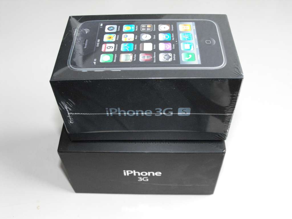 IPhone 3G Vs IPhone 3GS Box 2