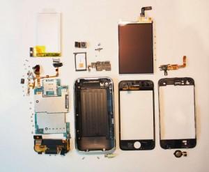 iPhone 3GS Einzelteile