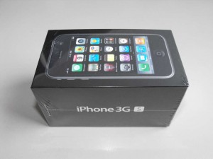 iPhone 3GS Packung