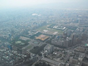 Overview from the 89. Floor of Taipei 101 - 2