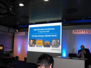 NavTeq Press Conference IFA 2009 01