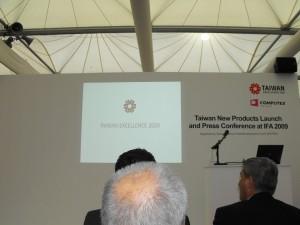 Taitra Press Conference IFA 2009 05