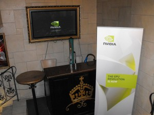 NVidia Press Conference Munich 1