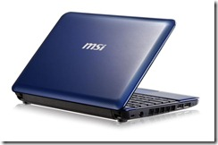 MSI Wind U135 Blue - 01