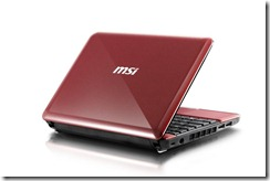 MSI Wind U135 Red - 01