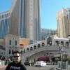 Vor dem Venetian in Vegas zur CES 2010
