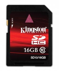Kingston 16GB Class 10 - 2