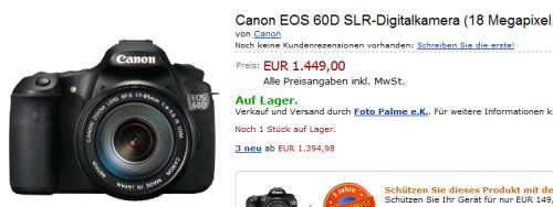 Canon eos 60d for 60 1785