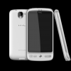 HTC Desire- Brilliant White_Front+Back+Left