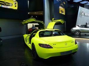 Mercedes SLS AMG E-cell 8