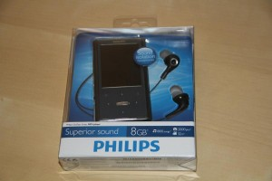 Philips GoGear Ariaz  - 008