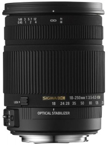 Sigma 18-250/3,5-6,3 DC OS HSM Objektiv