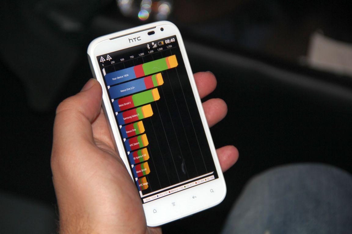 Mehr Bilder vom HTC Sensation XL