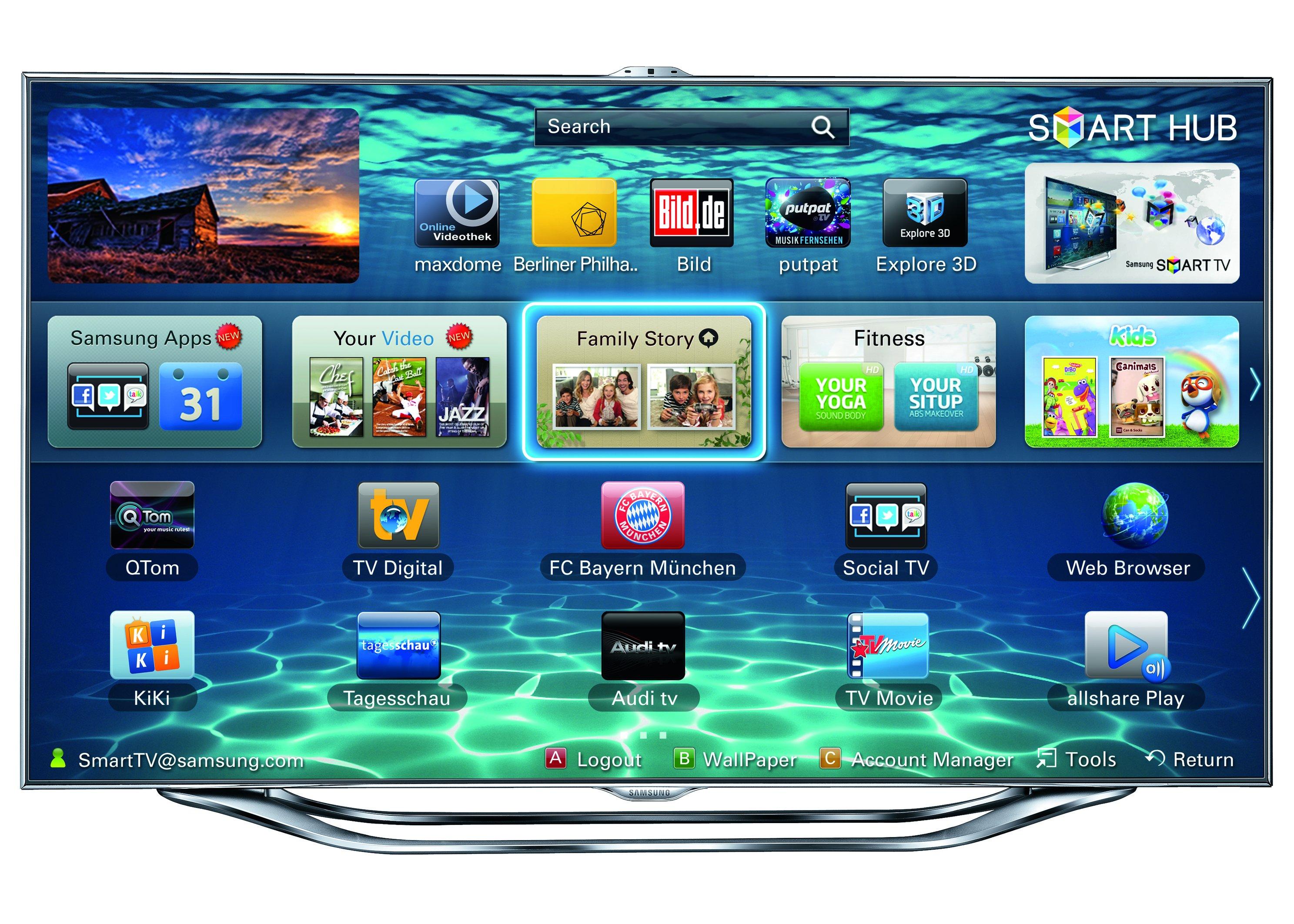 Samsung Smart Tv Konto Anmelden Geht Nicht