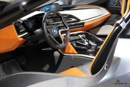 BMW i8 Interieur