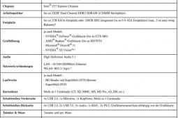 Acer Predator G5920 Specs