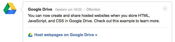 Google Drive Host
