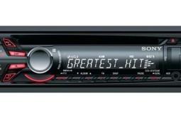 Sony Autoradio - 6