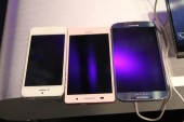 Huawei Ascend P6 Galaxy S4 iPhone 5 - 1