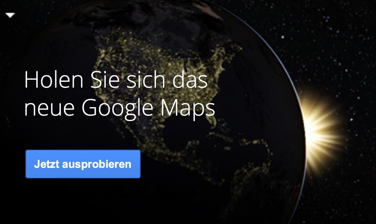 Entdecke das neue Google Maps | NewGadgets.de on