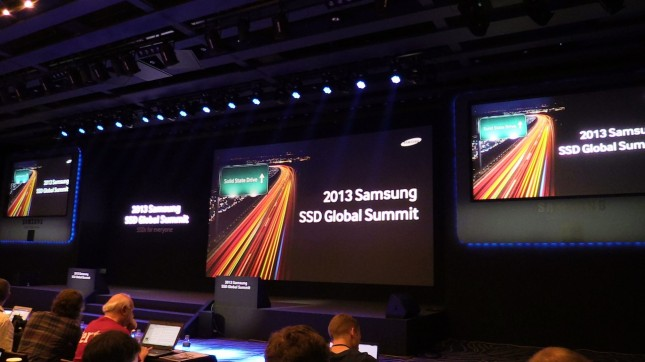 Samsung SSD Global Summit 2013