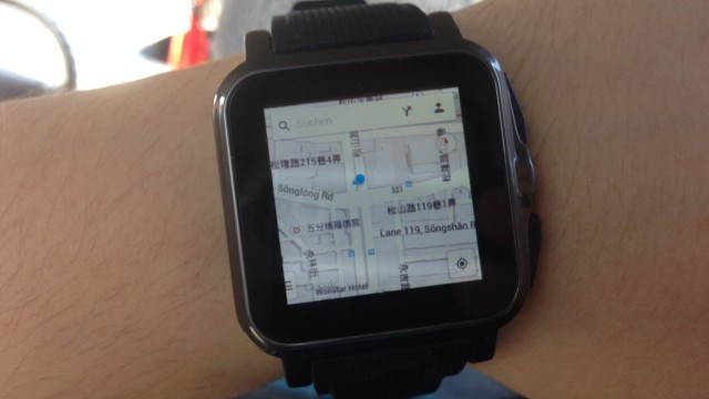 AW-414 Smartwatch - Google Maps