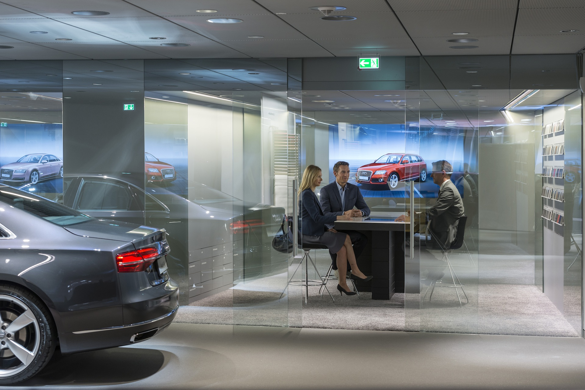 Audi Er 246 Ffnet Den Ersten Virtuellen Showroom In