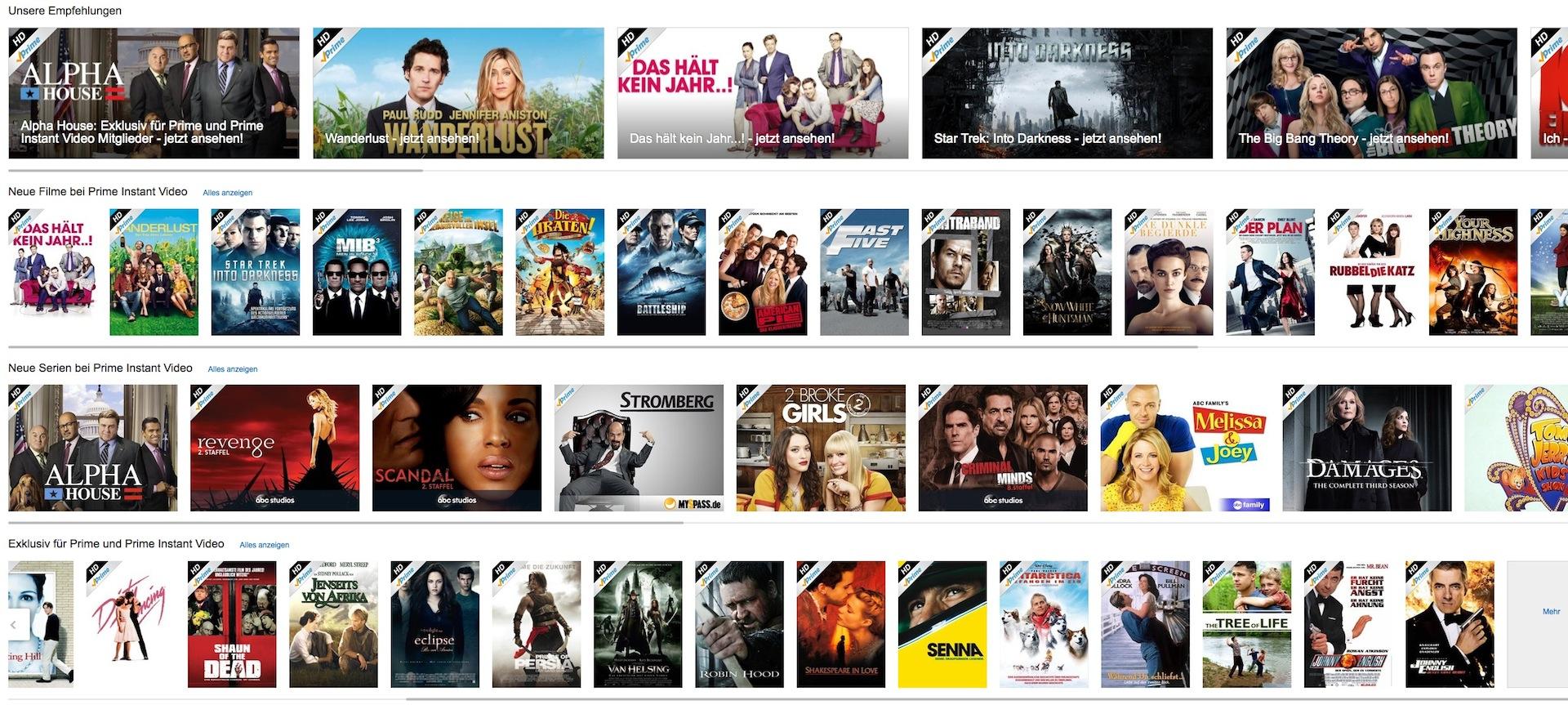 Filme Amazon Prime