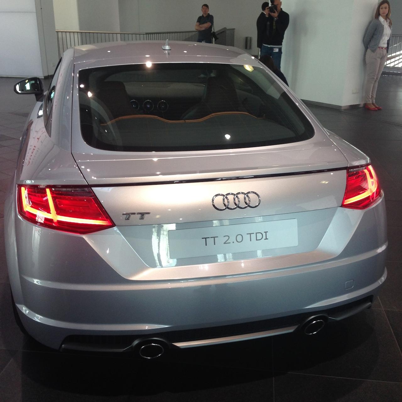 Platz Nehmen Im Neuen Audi TT Und TTS