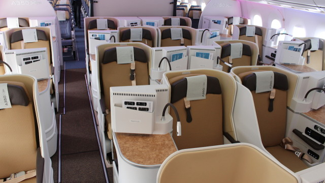 Airbus A350 - Business Class 2