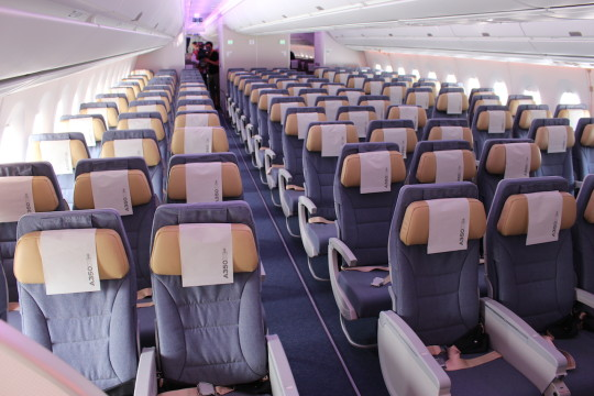 Airbus A350 - Economy Class
