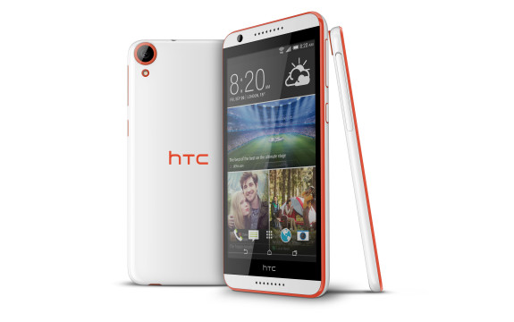 HTC Desire 820 Tangerine White