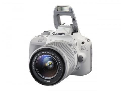 Canon EOS 100D White Edition Kit 1