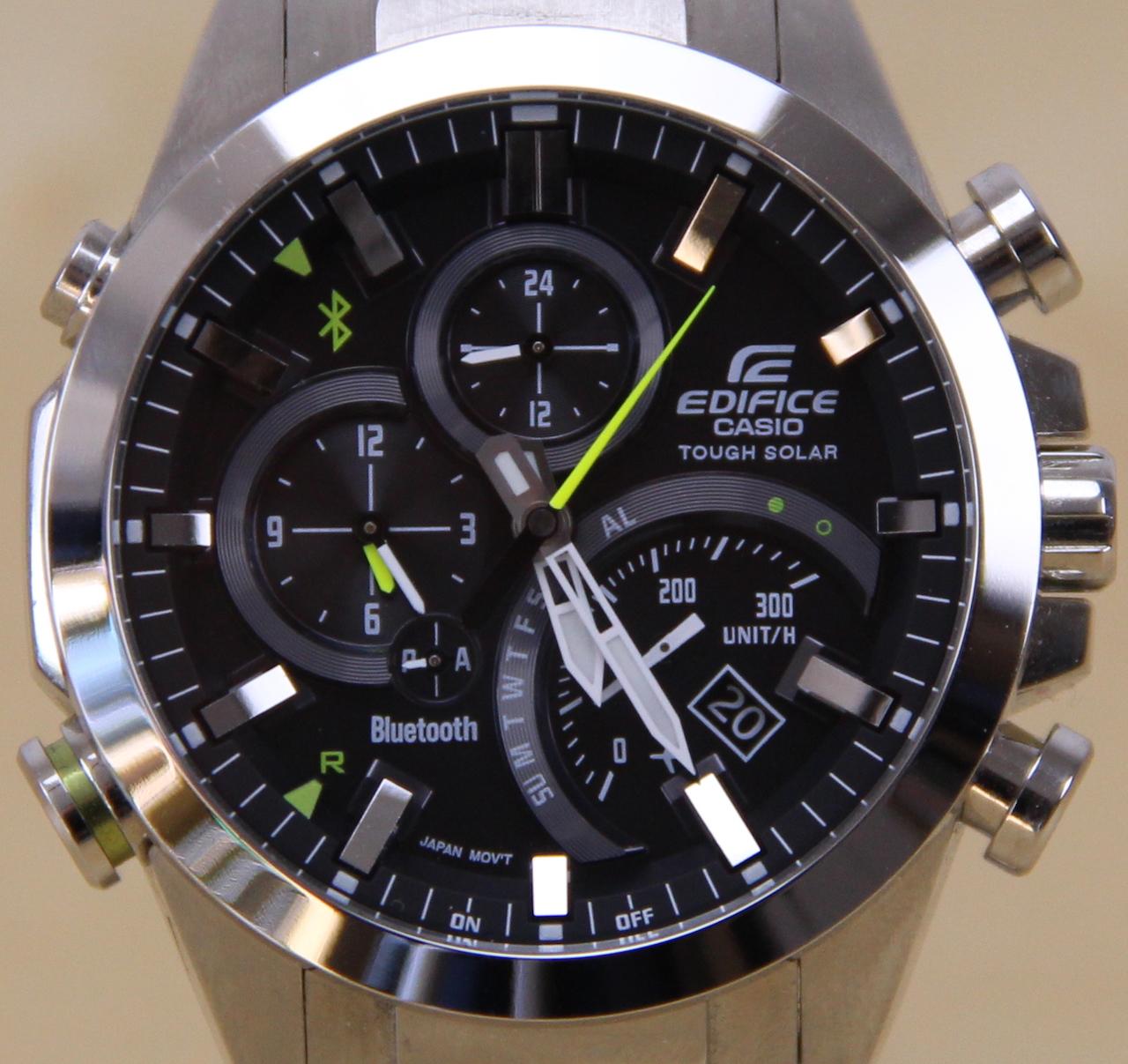 Casio Edifice Eqb 500 Connected Watch Im Test Newgadgets De