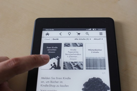 Amazon Kindle Paperwhite 2015 - 10