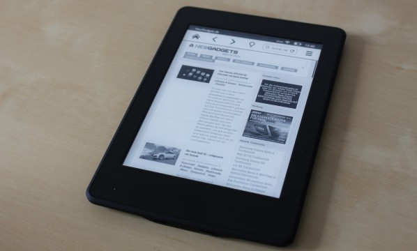 Amazon Kindle Paperwhite 2015 - 14