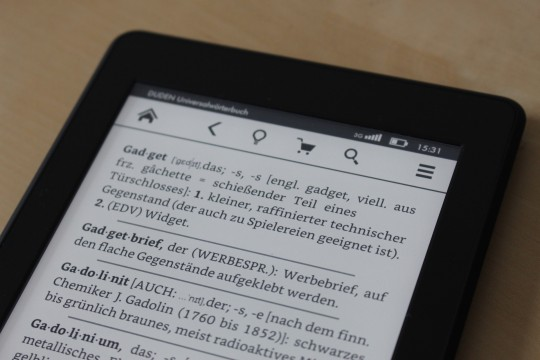 Amazon Kindle Paperwhite 2015 - 2