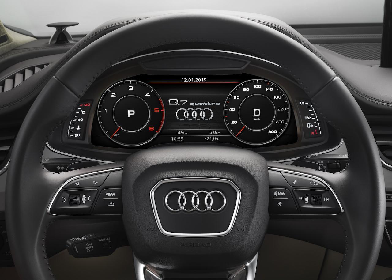 Auto cockpit audi  Der neue Audi Q7 – vollgepackt mit Technik | NewGadgets.de