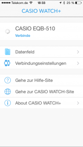 Casio App EQB-510 - 1