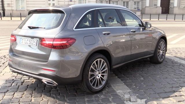 Mercedes-Benz GLC hinten