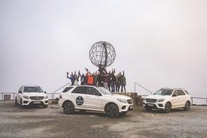 #MBPolarSun - GLE Und GLE Coupé Road Trip - Nordkapp #MBPolarSun - GLE and GLE Coupé road trip - North Cape
