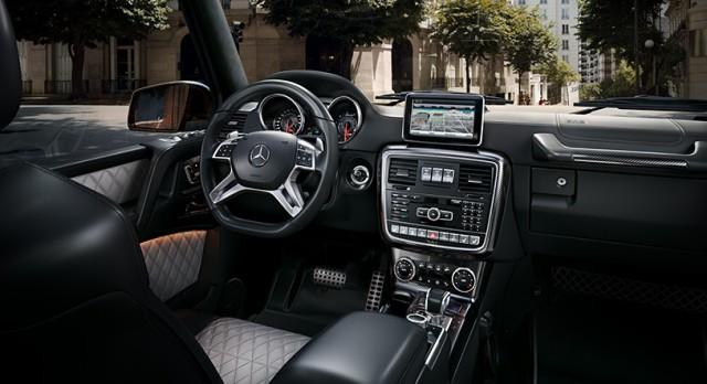 Mercedes benz g klasse fahrbericht for G klasse amg interieur