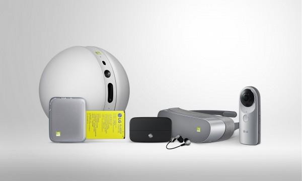 LG Rolling Bot 360 Camera 360 VR