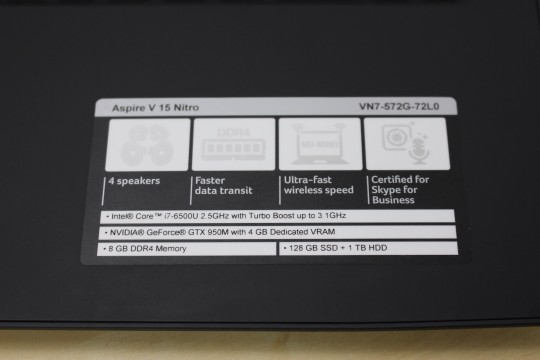 Acer Aspire V15 Nitro - 6