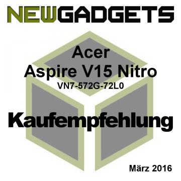 Acer Aspire V15 Nitro Award