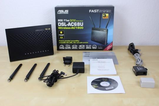Asus DSL-AC68U - 1