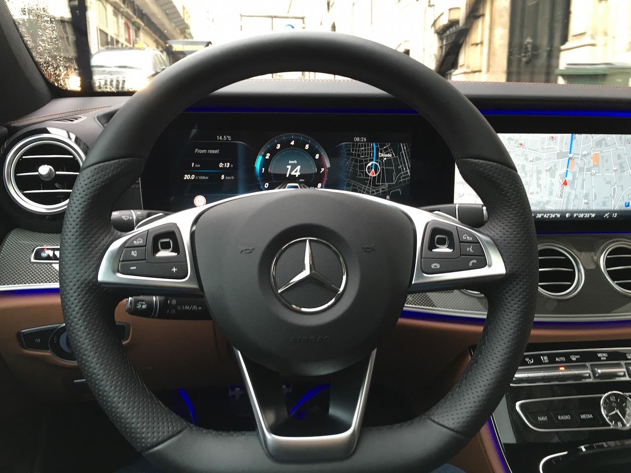 Mercedes Benz B Interior