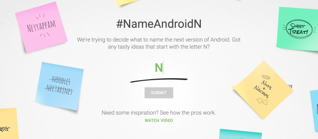 Android N Namesearch