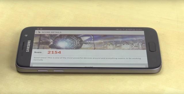 Samsung Galaxy S7 Test 3DMark