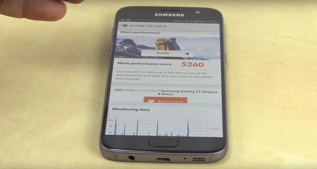 Samsung Galaxy S7 Test PCMark